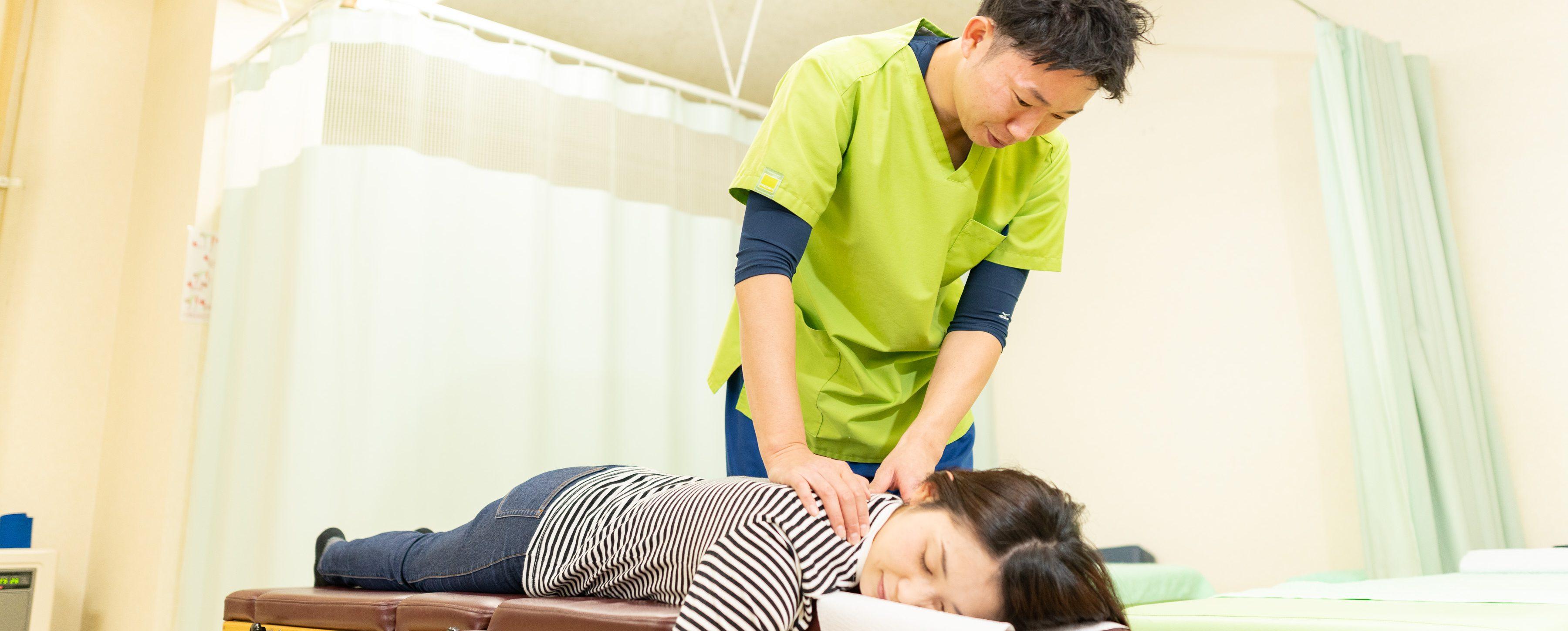 肩こりの施術|札幌市東区まこと整骨院